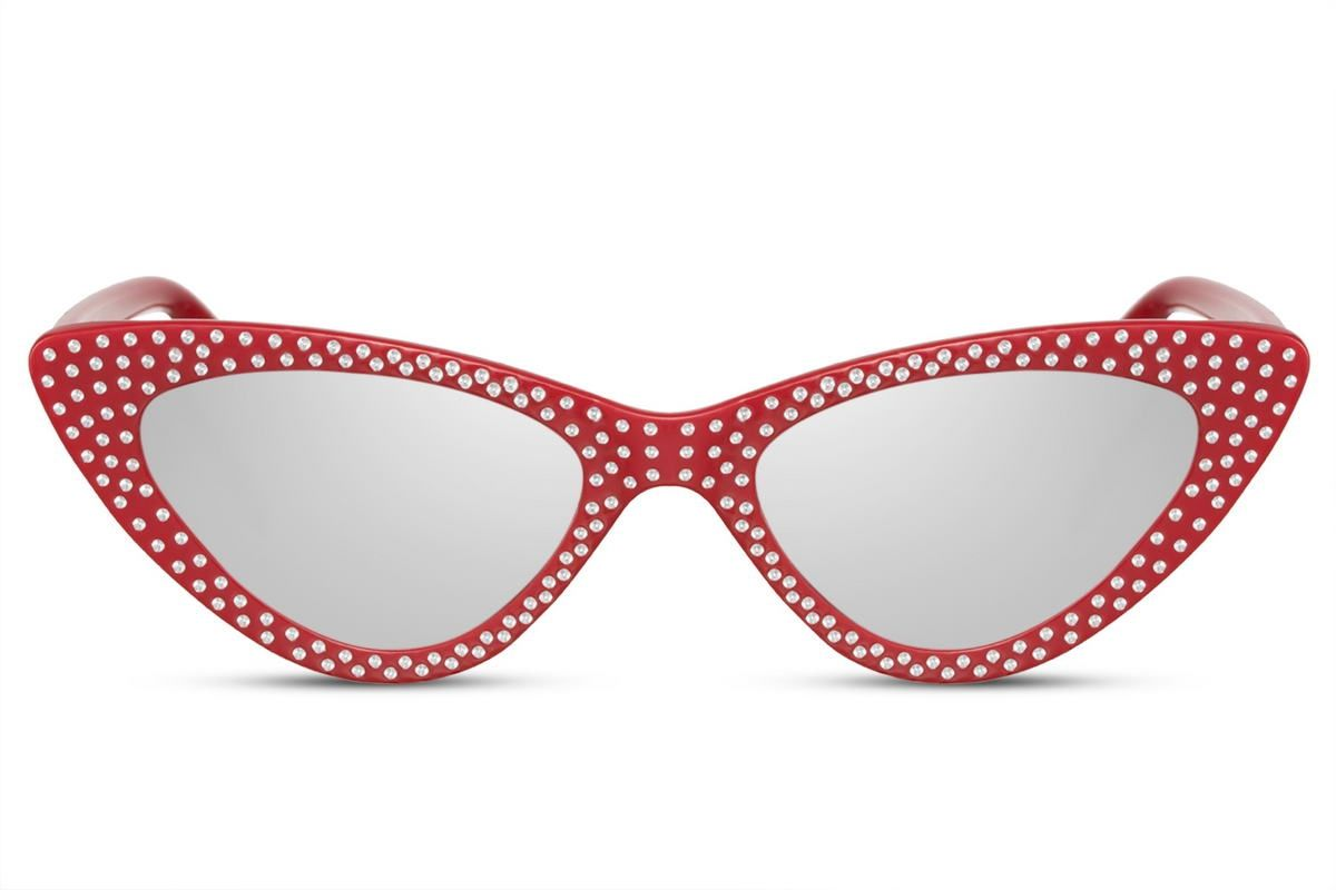 Diamond Cateye - Red