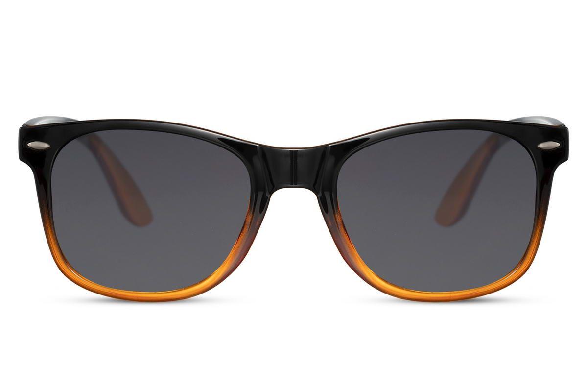 Orange Black Wayfarer