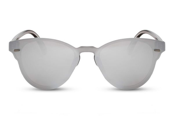 Clubmaster: Flat Silver